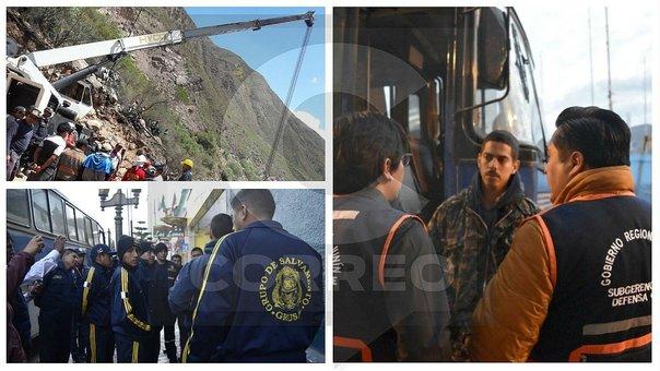 Turismo Central: 21 especialistas y maquinaria llegan para buscar desaparecidos