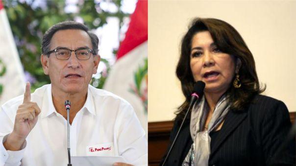 Mart�n Vizcarra tilda de vergonzosas las cr�ticas de Martha Ch�vez al nombramiento de Zeballos