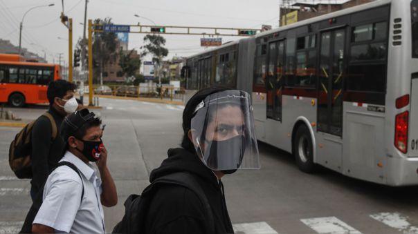 Uso de protectores faciales sera obligatorio.