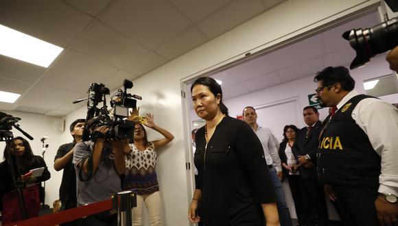 Keiko Fujimori afronta tercer pedido de prisi�n preventiva