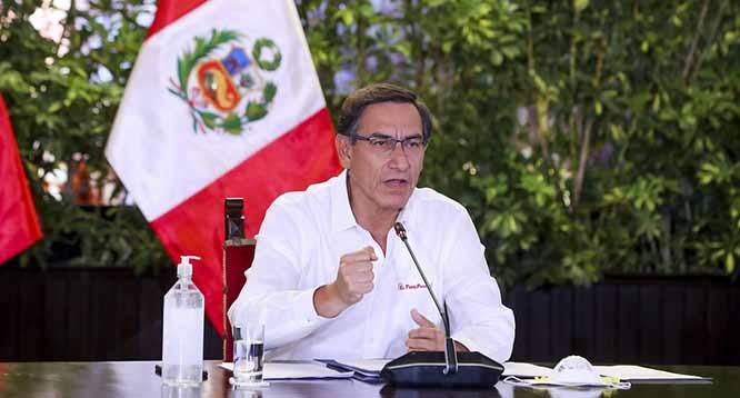 Presidente Vizcarra anuncia ampliaci�n del estado de emergencia hasta el 12 de abril