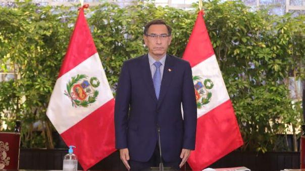 Mart�n Vizcarra convoc� a elecciones generales para el 11 de abril de 2021