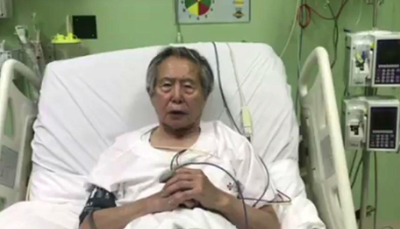 Alberto Fujimori pide ?perdón? y promete apoyar la reconciliación