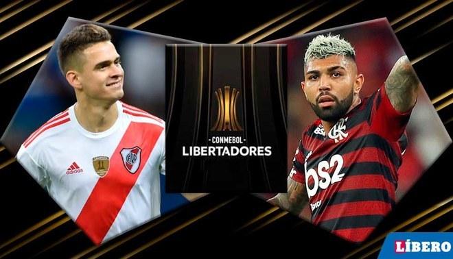 �Salen a matar! Las alineaciones de River y Flamengo para la final de la Copa Libertadores 2019