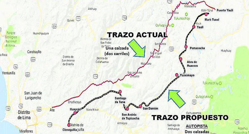 Gobierno clasifica  como ruta nacional a autopista cuatro carriles