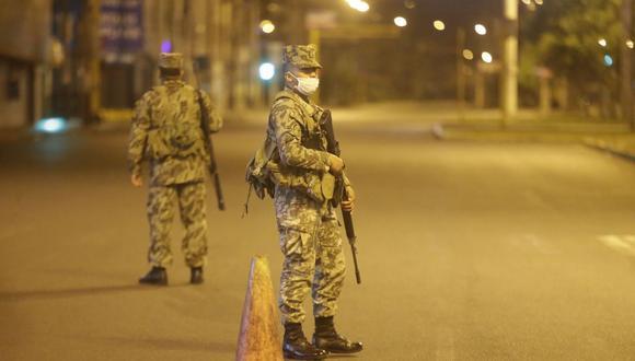 Toque de queda en Lima y Callao: La inmovilizaci�n social continuar� desde la 1:00 a.m. hasta las 4: