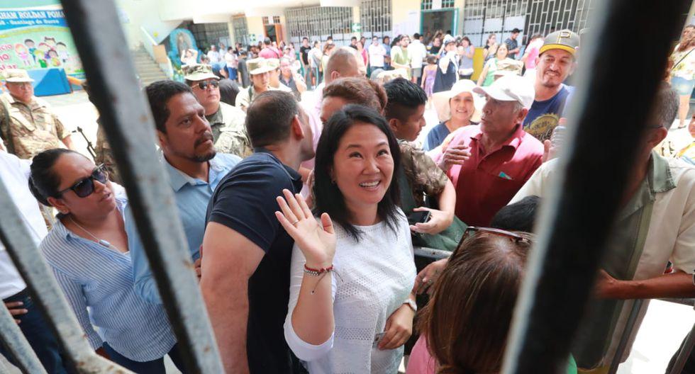 Juez Z��iga decide hoy situaci�n legal de Keiko Fujimori