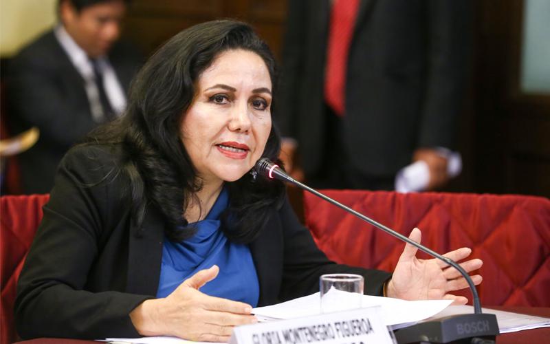 Gloria Montenegro dice que Per� es un pa�s de violadores