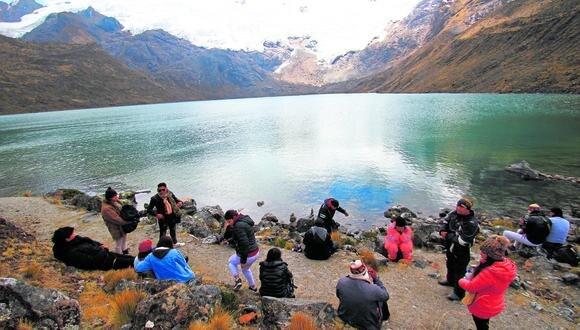 Desde hoy reanudar�n actividades tur�sticas en Nevado de Huaytapallana