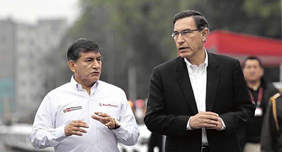 Mart�n Vizcarra enmienda a ministro Mor�n sobre protecci�n a congresistas