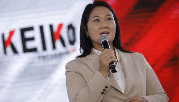 Keiko Fujimori insiste en un
