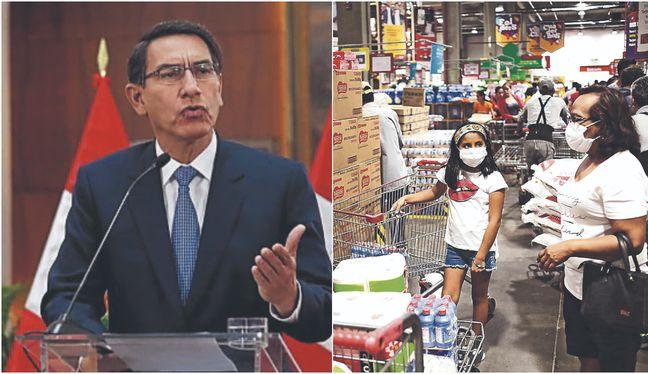 Presidente Vizcarra: No hay riesgo de desabastecimiento