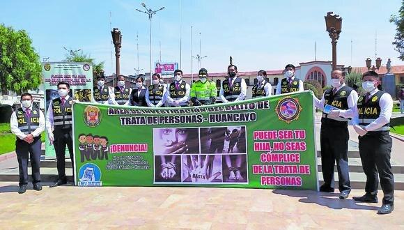 Treinta victimas que fueron captadas por trata son rescatadas por la Policia Nacional en Junin