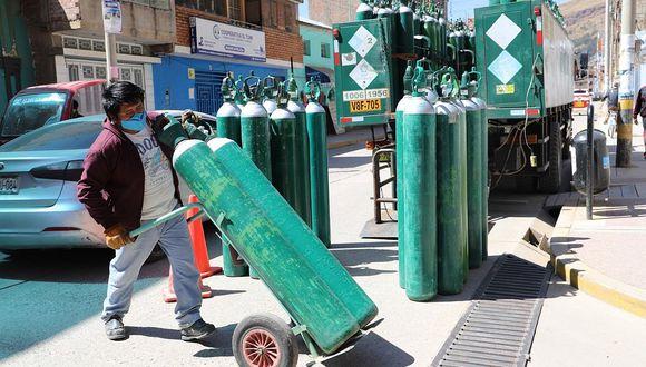 Huancavelica compra 600 metros cubicos de oxigeno