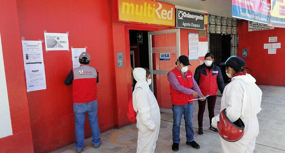 M�s de 6 mil hogares en la regi�n Jun�n a�n no recogen su Bono Independiente