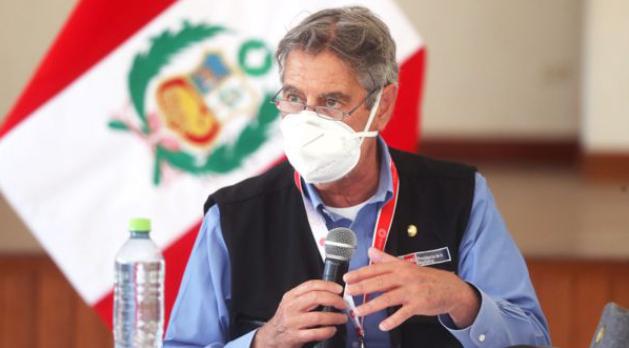 Pr�ximo gobierno deber�a pedirle a Francisco Sagasti que se encargue del plan de vacunaci�n, afirm�