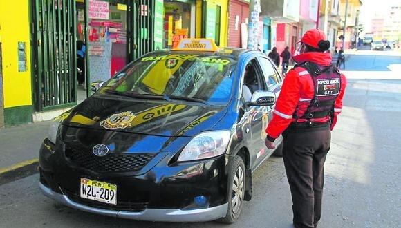 En un mes multan a 1250 choferes de Huancayo por incumplir protocolos  contra la COVID-19