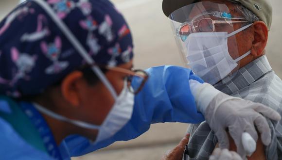 Inicia vacunaci�n a adultos mayores de la regi�n Jun�n con dosis de Pfizer