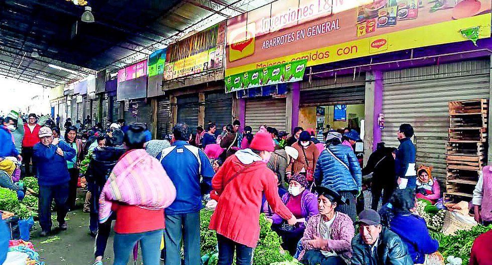 Existe alto riesgo de contagio del virus en mercados tugurizados