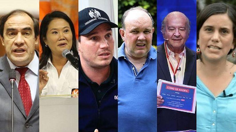 Datum: Yonhy Lescano lidera carrera a la Presidencia y cinco candidatos luchan por el segundo puesto