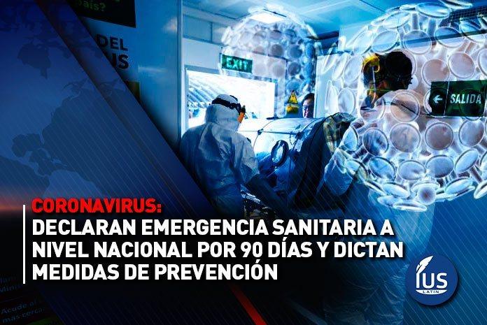 Poder Ejecutivo aprueba Plan de Acci�n para enfrentar emergencia sanitaria por Covid-19