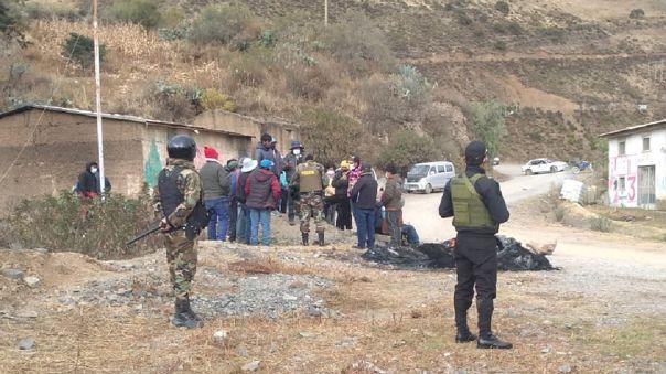 Huancavelica: Permanecen retenidos diez camiones con concentrado de cobre de la empresa Doe Run