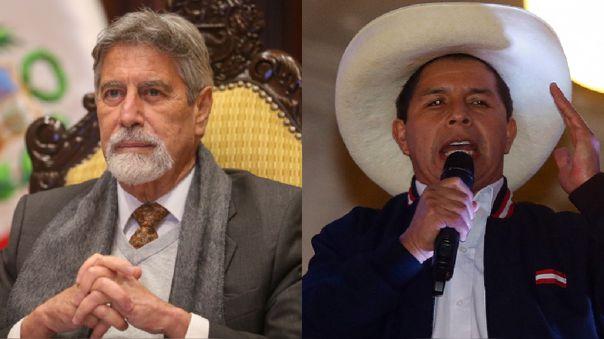 Francisco Sagasti se reunir� esta tarde con Pedro Castillo en Palacio de Gobierno