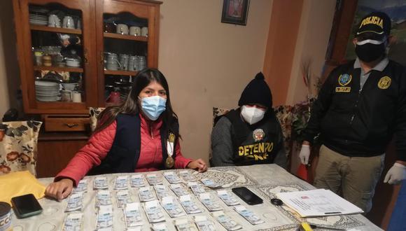 Fiscal�a y PNP desbaratan a: Los Din�micos del Centro, banda de las licencias ilegales