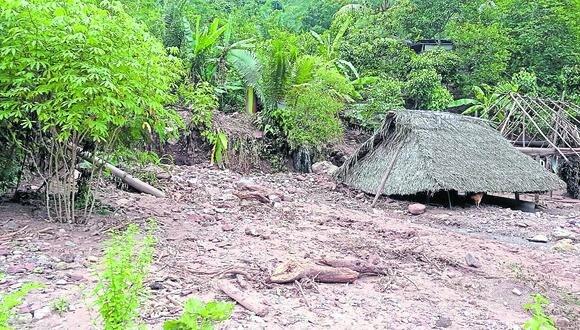 Pobladores de unas 30 comunidades  de la Selva Central son afectadas por huaico
