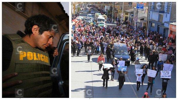 Huancayo: Despiden a Guisell y su asesino pasa directo al penal