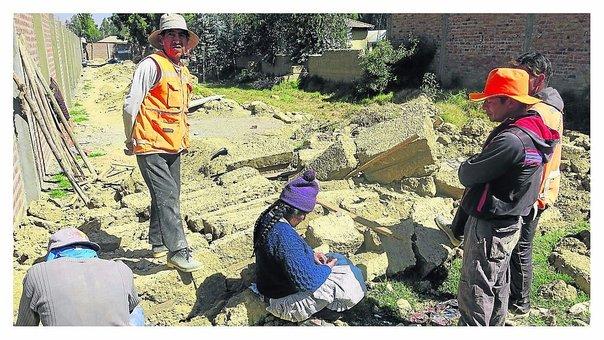 Huancayo: padre de 3 hijos muere en su primer día de trabajo