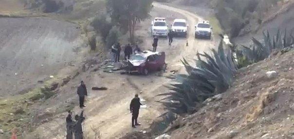 Jauja: Mueren dos agentes de la Policía Nacional en trágico accidente