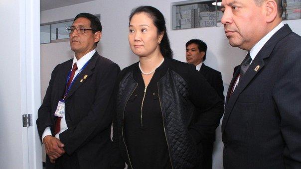 Keiko Fujimori dejar�a prisi�n hoy tras publicaci�n del Tribunal Constitucional