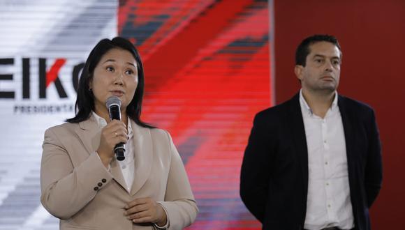 Keiko Fujimori: El presidente Sagasti no debe interferir