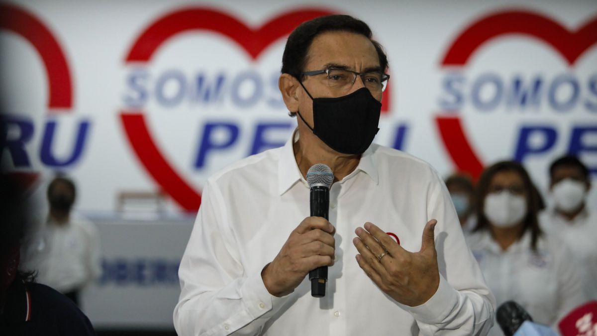 Mart�n Vizcarra queda fuera de carrera electoral
