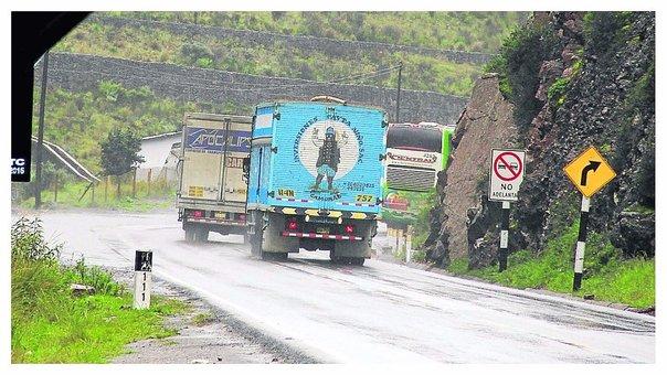 Ministerio de Transportes inicia intervención de la Carretera Central
