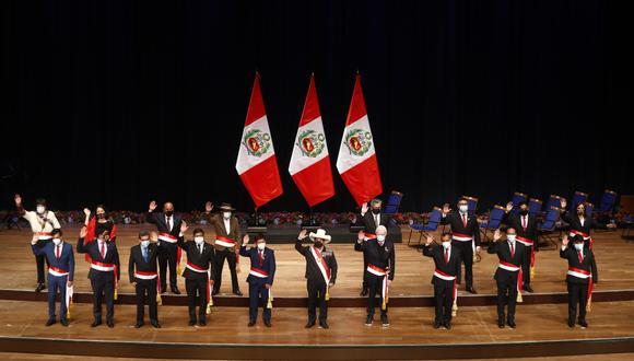 Gabinete Ministerial: estos son los ministros a los que tom� juramento Pedro Castillo