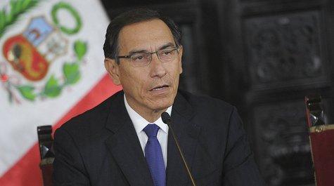 Martín Vizcarra le dice