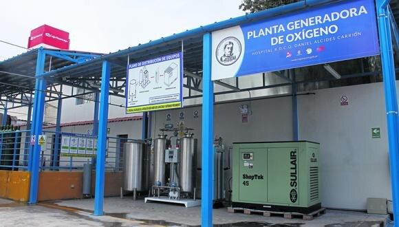 Ox�geno producido en planta del Carri�n no tiene la pureza exigida para pacientes COVID
