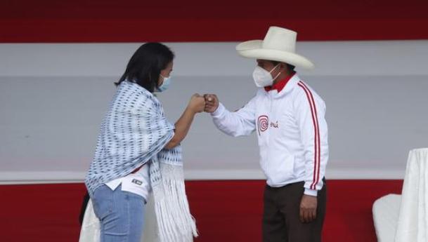 ONPE: Pedro Castillo se afianza en primer lugar y vence a Keiko Fujimori por 34 000 votoso electoral