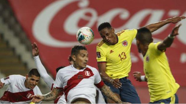 En el fondo de la tabla: Per� perdi� 3-0 ante Colombia por la fecha 7 de las Eliminatorias Qatar 202