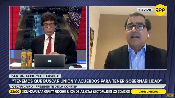 Confiep: Quien llegue al Gobierno deber� buscar la uni�n de los peruanos y la estabilidad pol�tica
