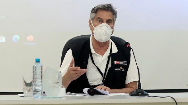 Francisco Sagasti: El pr�ximo mi�rcoles llegar�n 117 mil vacunas de Pfizer como parte del mecanismo