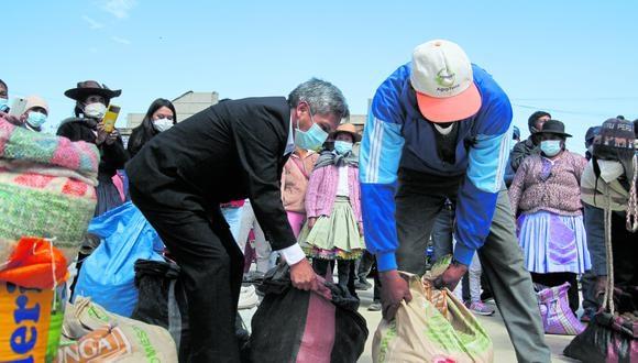 Conoce Sapallanga, el distrito de la regi�n Jun�n que a�n practica la tradici�n ancestral del truequ