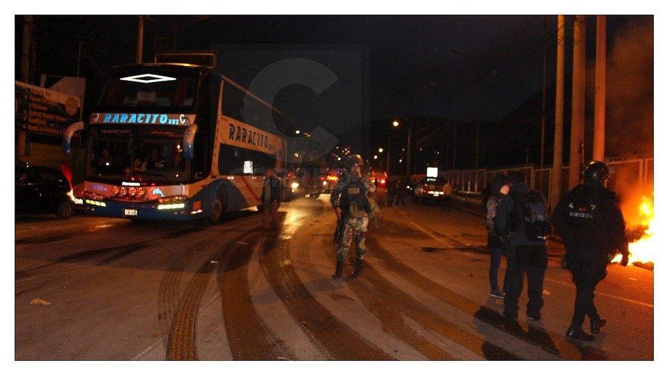 Tras 58 horas de bloqueo, abren el pase en la Carretera Central