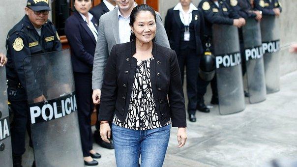 Tribunal Constitucional dispone inmediata libertad de Keiko Fujimori