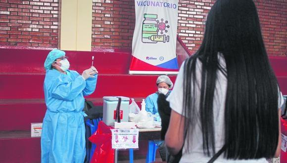 Huancayo: Hoy inicia vacunaci�n a gestantes con apellidos que empiezan con la A hasta la D