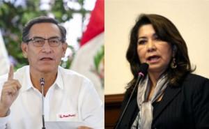 Martín Vizcarra tilda de vergonzosas las críticas de Martha Chávez al nombramiento de Zeballos