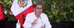 Presidente Vizcarra anuncia ampliación del estado de emergencia hasta el 12 de abril