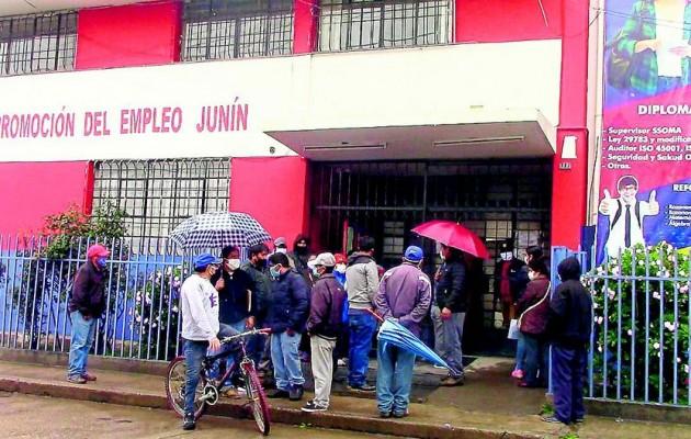 Descartan empadronamiento para bono a trabajadores independientes de Junín